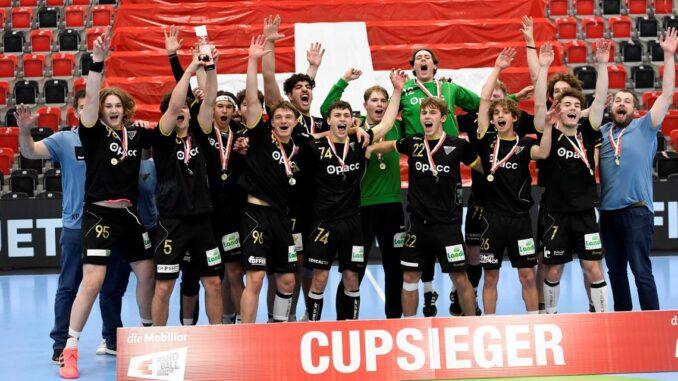 Die U19 Handballer des HSG sind Cupsieger